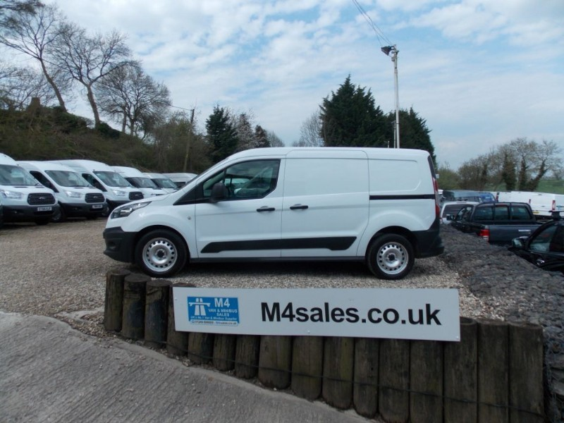 used Ford Transit Connect 210 LWB 95ps in wiltshire