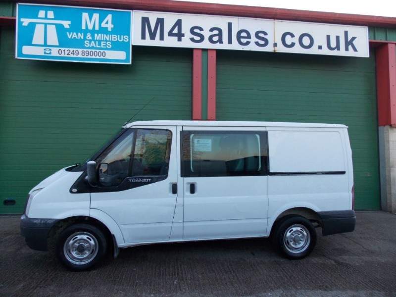 used Ford Transit 6st Crewvan in wiltshire