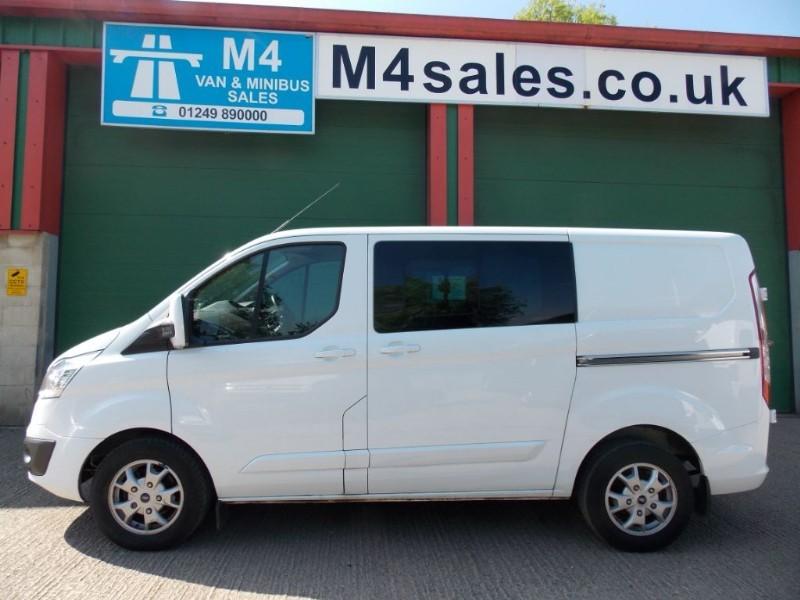 used Ford Transit Custom 155ps,6st swb Ltd model C/van. in wiltshire
