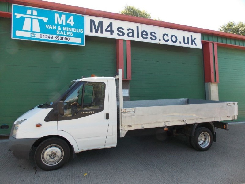 used Ford Transit 350 140PS  LWB DROPSIDE in wiltshire