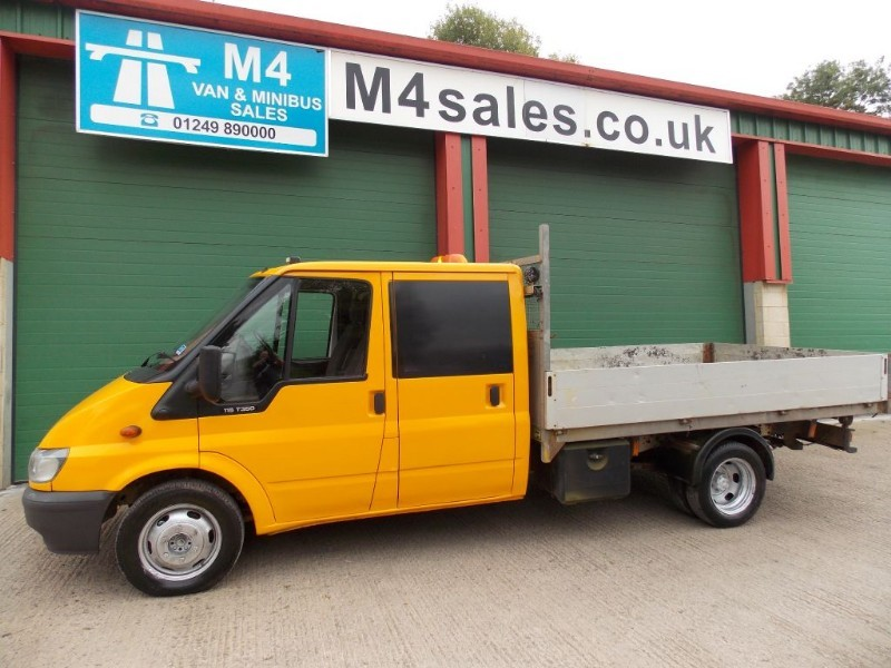 used Ford Transit 350 Double Cab Dropside in wiltshire