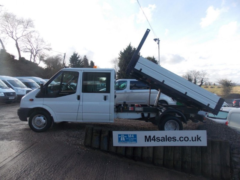 used Ford Transit 350 Crew Cab Tipper in wiltshire