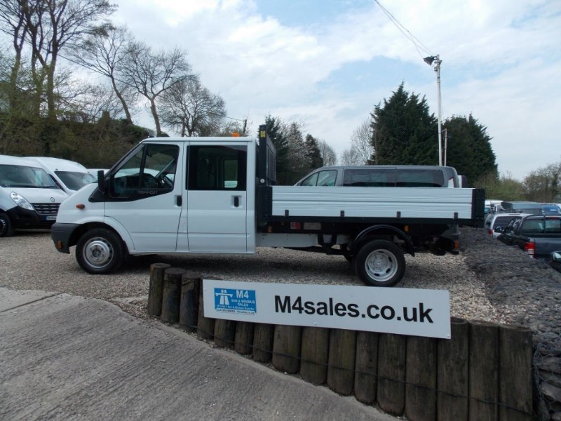 used Ford Transit 115ps, 350 D/cab tipper in wiltshire