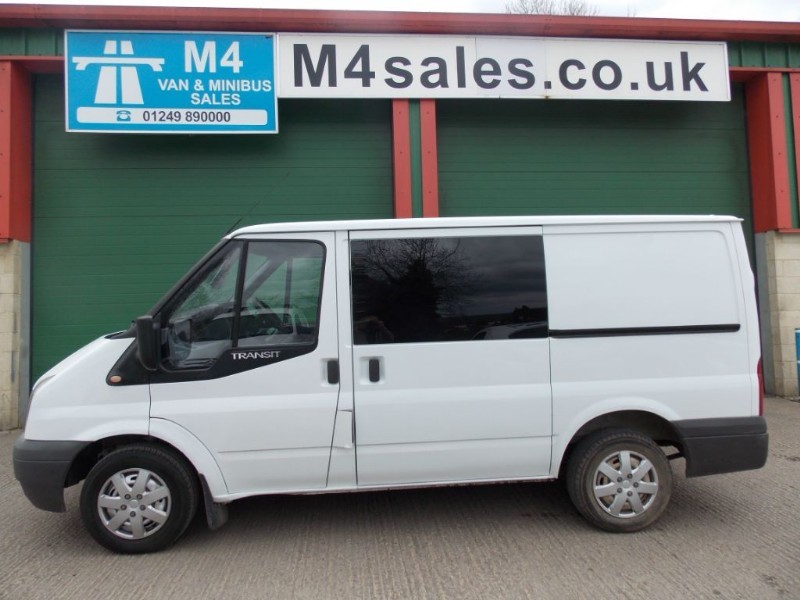 used Ford Transit 260 SWB 85 Psi No VAT Side Window In SLD in wiltshire