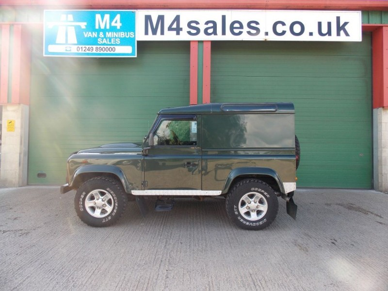 used Land Rover Defender 90 COUNTY HARD TOP in wiltshire