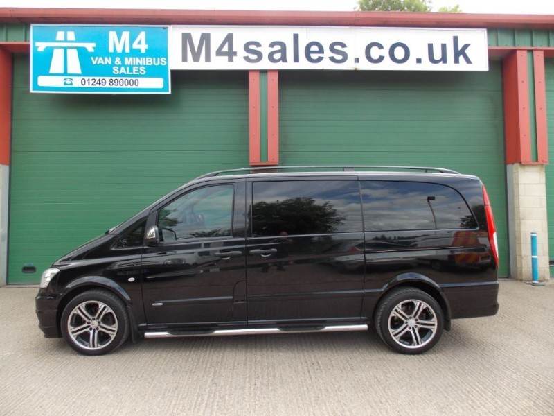 used Mercedes Vito 122cdi,6st SportX Brabus Lwb,S/nav,Leather in wiltshire