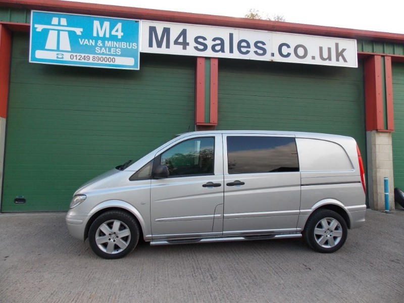 used Mercedes Vito 115 CDI COMPACT DUALINER SPORT in wiltshire