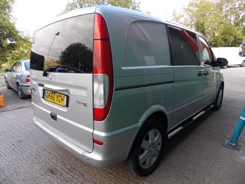 Used Silver Mercedes Vito For Sale Wiltshire