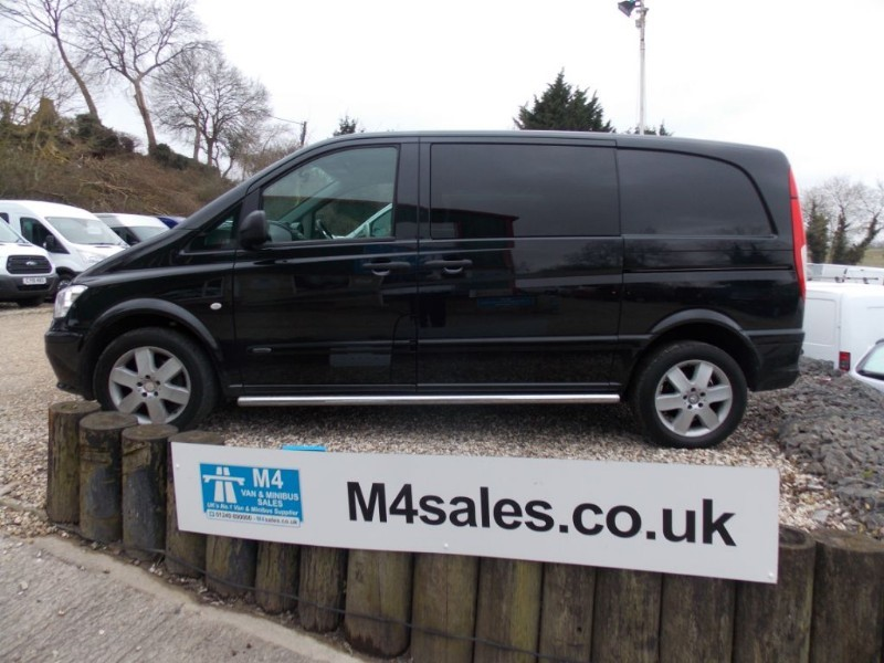 used Mercedes Vito 116 Cdi Compact Sport Dualiner A/C Alloys Tailgate 5 Seats in wiltshire