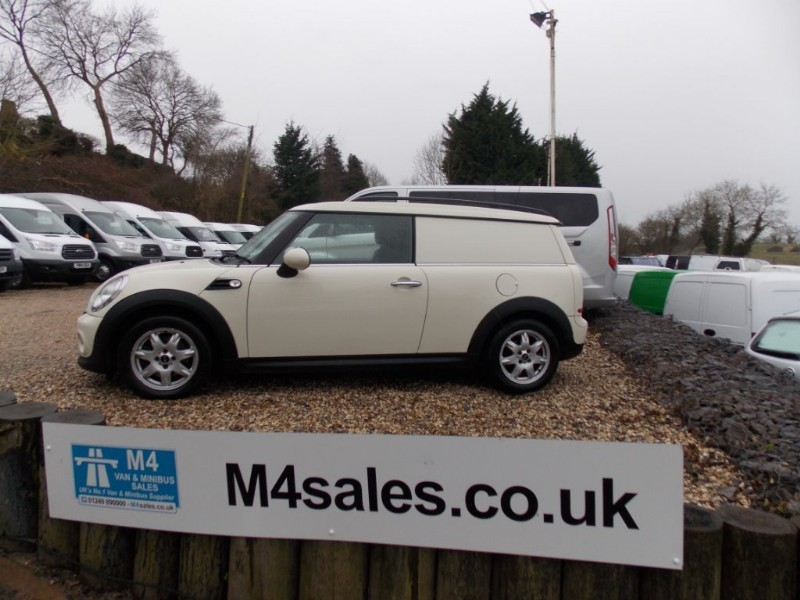 used MINI Clubvan ONE A/C Alloys Service History  in wiltshire