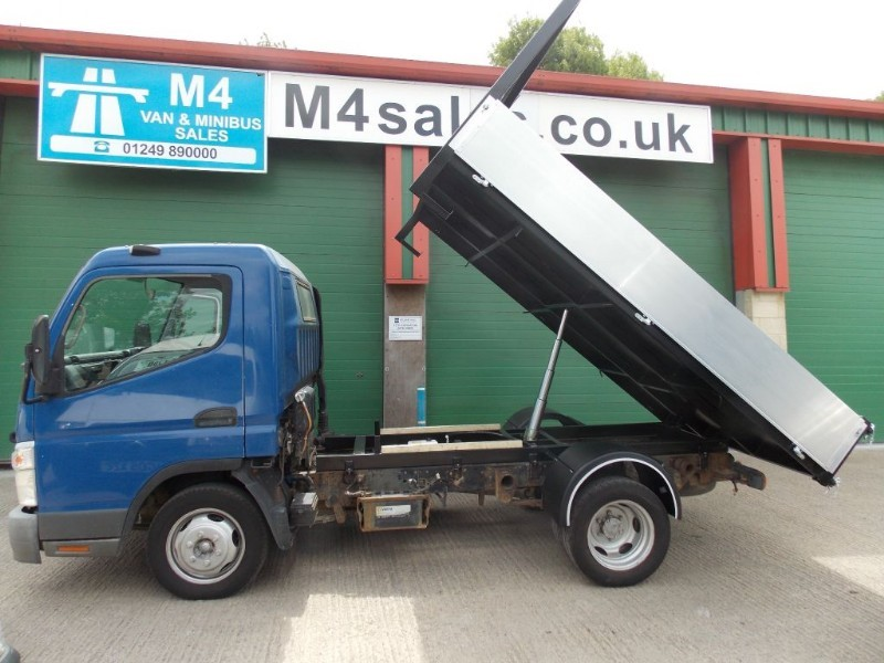 used Mitsubishi Canter 35  TD  New Tipper Body  in wiltshire