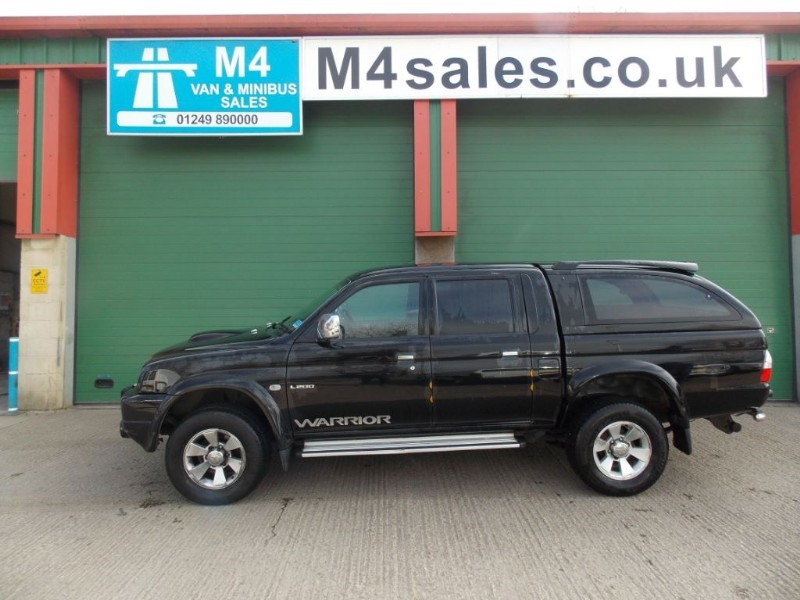 used Mitsubishi L200 TD 4WD LWB WARRIOR DCB in wiltshire