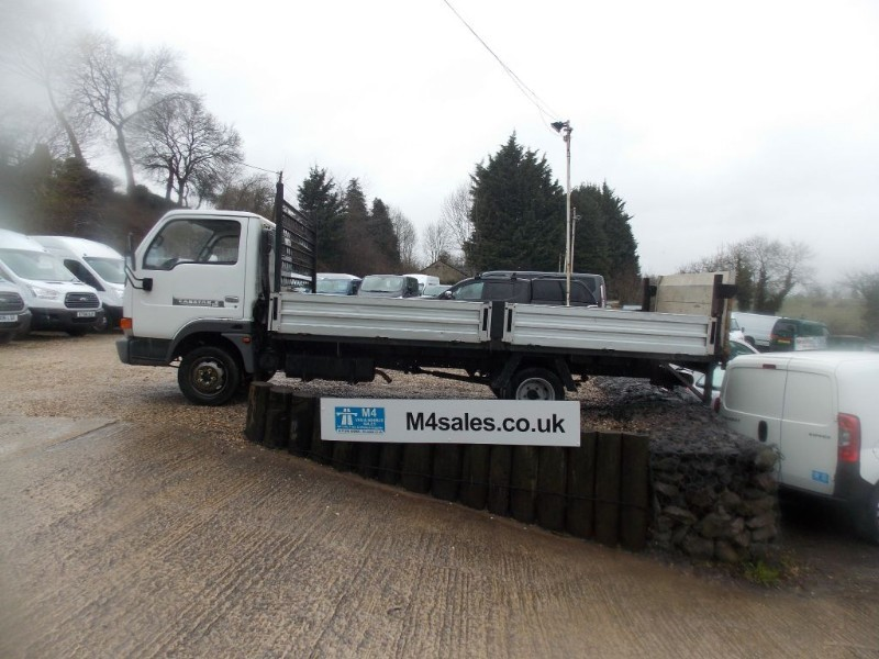 used Nissan Cabstar 3.0dsl,15ft dropside with t/lift in wiltshire