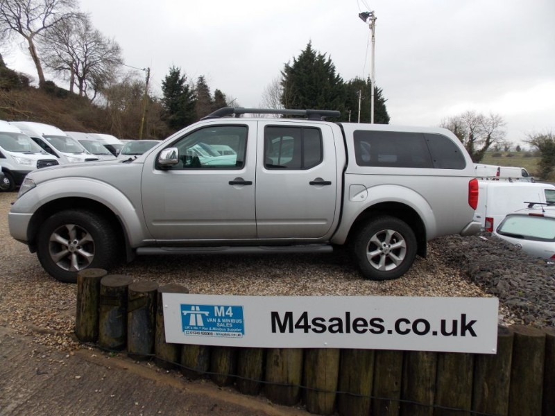 used Nissan Navara AVENTURA DCI 4X4 Double Cab Automatic Sat Nav  in wiltshire