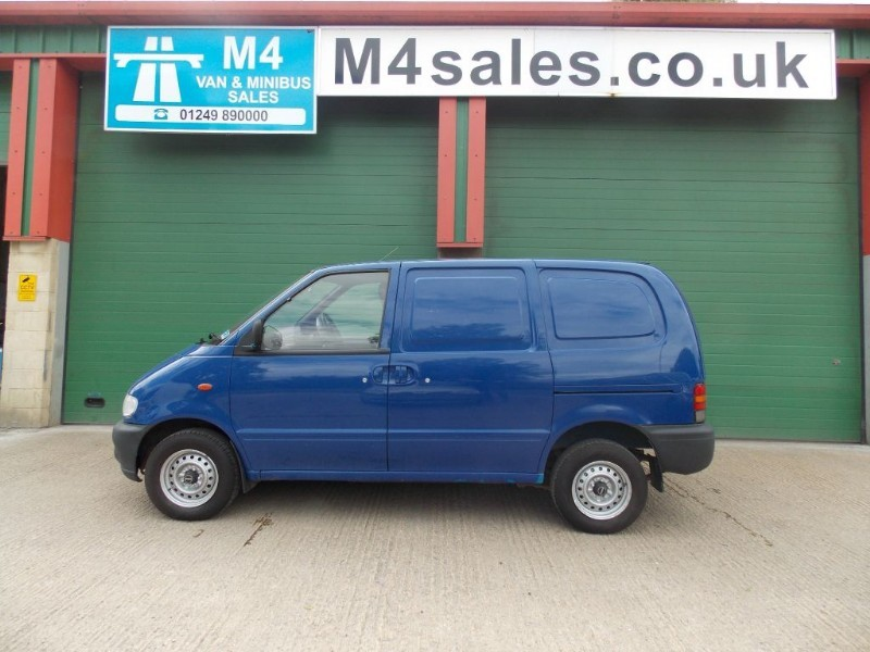 used Nissan Vanette E 2.3D in wiltshire