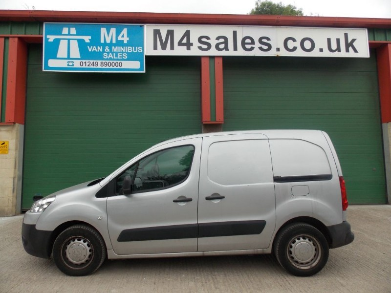 used Peugeot Partner HDI S L1 850 in wiltshire