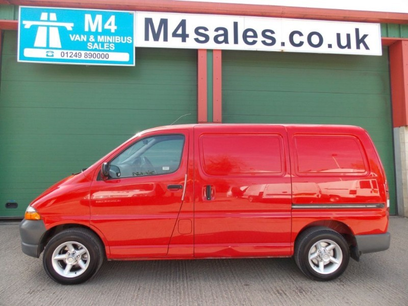 used Toyota Hiace 300 POWERVAN GS SWB in wiltshire