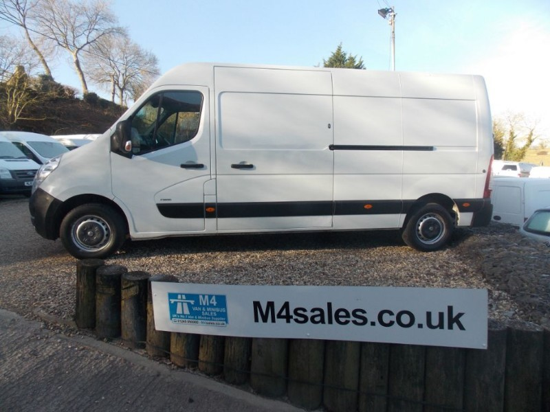used Vauxhall Movano F3500 L3H2 CDTI in wiltshire
