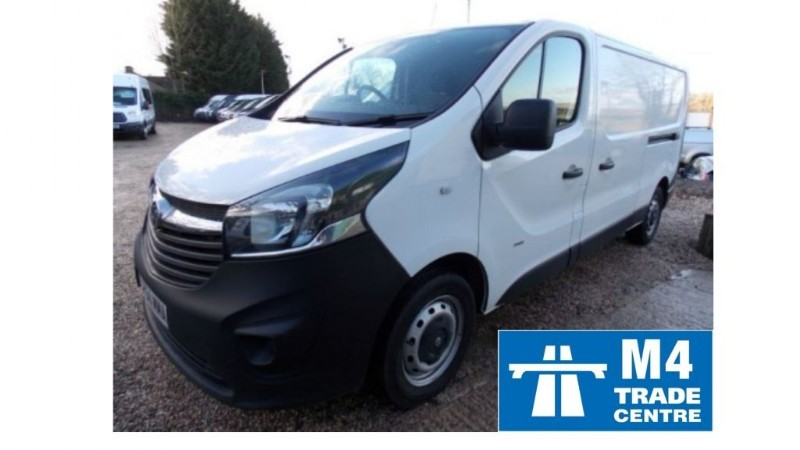 used Vauxhall Vivaro 2900 CDTI LWB 115ps  in wiltshire