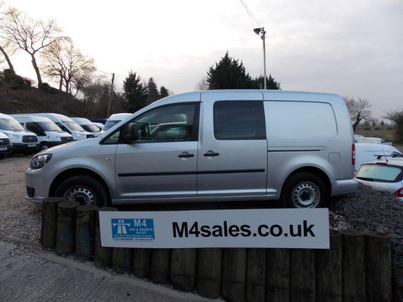 used VW Caddy Maxi 102ps,5 seat Kombi maxi van,a/c  in wiltshire