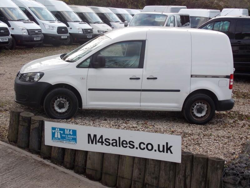 used VW Caddy C20 TDI 75 in wiltshire