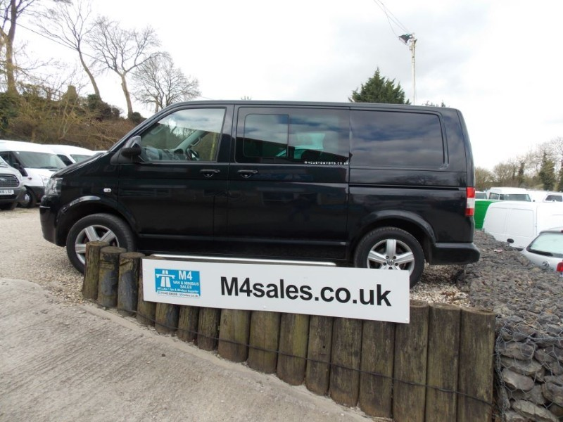 used VW Transporter T30 Swb Kombi 2.0 180 Biturbo A/C Tailgate 1 Owner FSH in wiltshire
