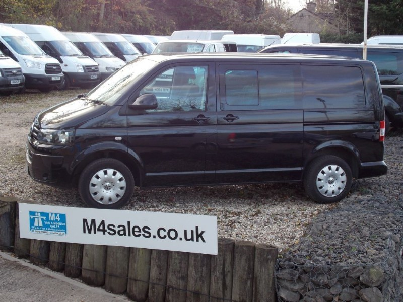 used VW Transporter Swb Kombi Van 5 Seats A/C SAT NAV Tailgate 102 BHP in wiltshire