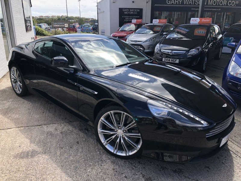 used Aston Martin DB9 V12 in glamorgan