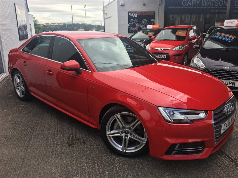used Audi A4 TDI S LINE in glamorgan