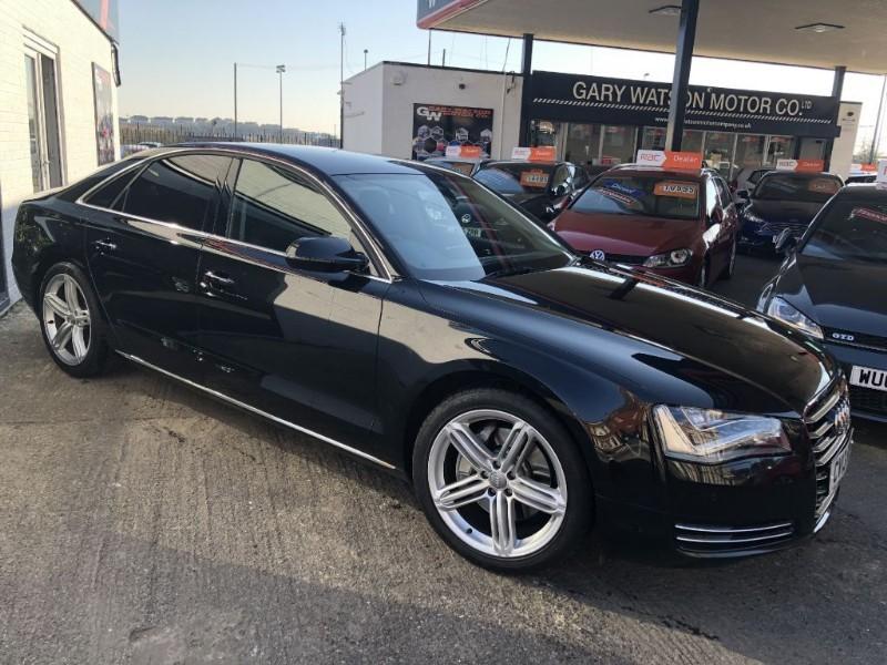 used Audi A8 TDI QUATTRO SPORT EXECUTIVE in glamorgan
