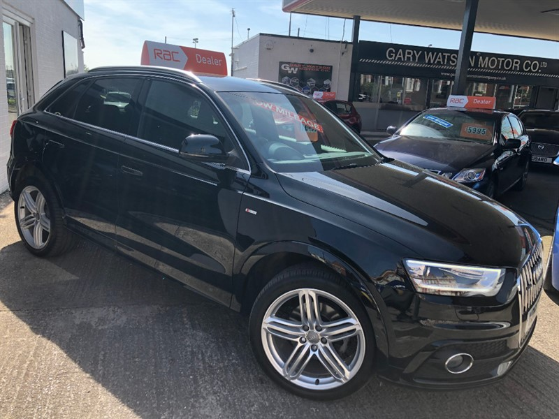 used Audi Q3 TDI QUATTRO S LINE PLUS in glamorgan