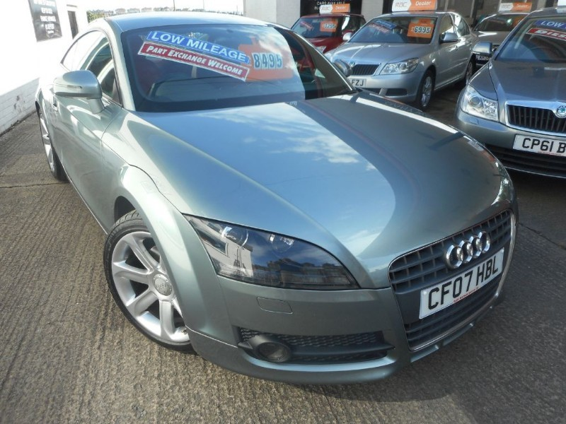 used Audi TT TFSI in glamorgan