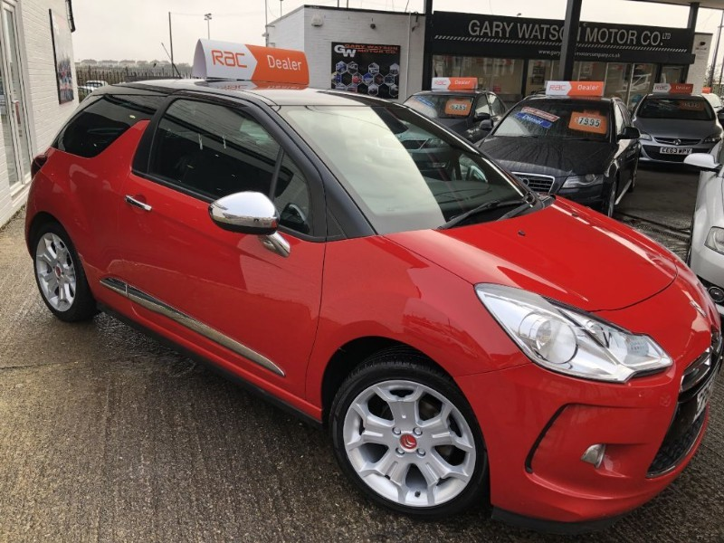 used Citroen DS3 DSTYLE PLUS in glamorgan