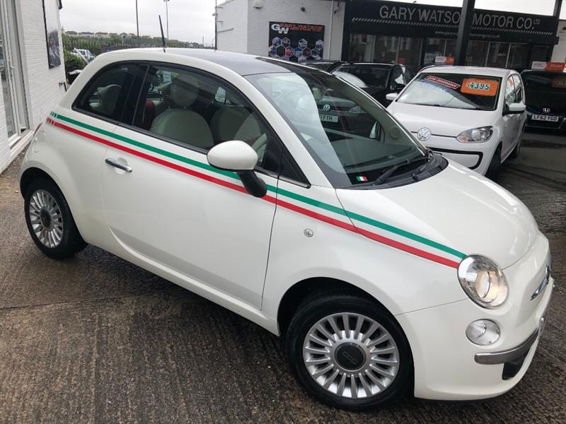 used Fiat 500 LOUNGE in glamorgan