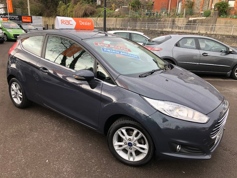 used Ford Fiesta ZETEC in glamorgan