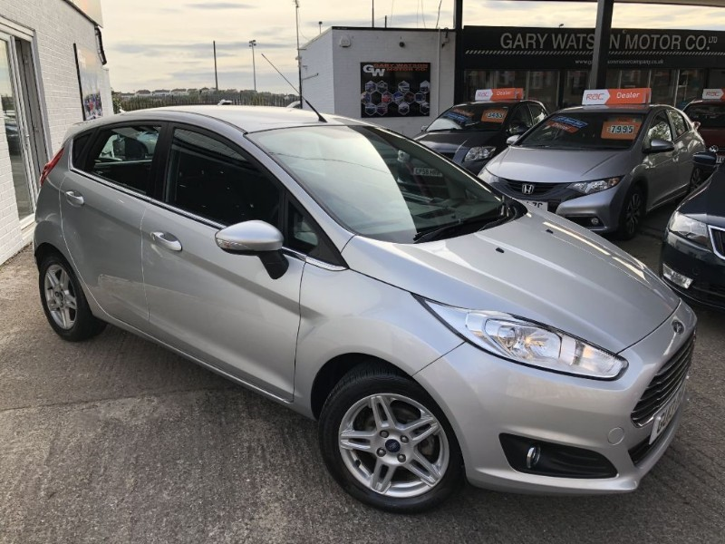 used Ford Fiesta ZETEC TDCI in glamorgan