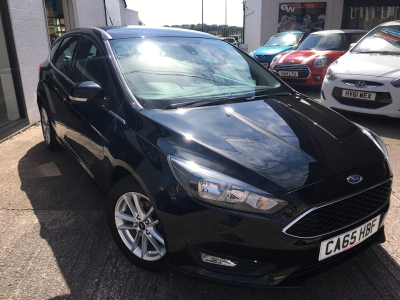 used Ford Focus ZETEC in glamorgan
