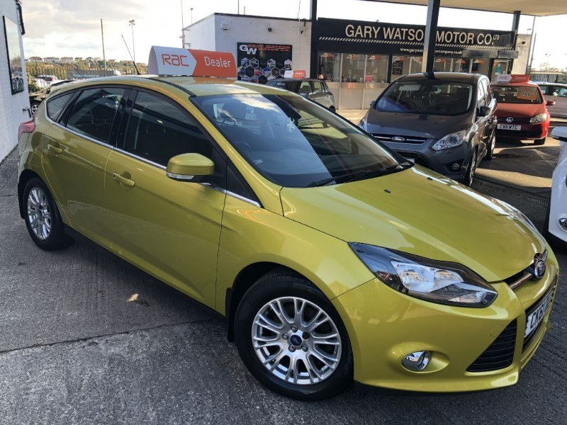 used Ford Focus TITANIUM in glamorgan