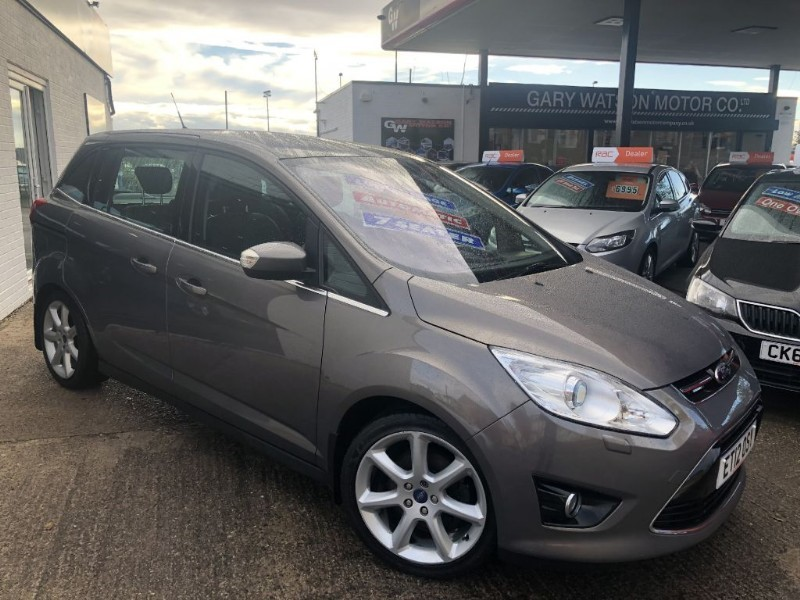 used Ford Grand C-Max TITANIUM TDCI in glamorgan