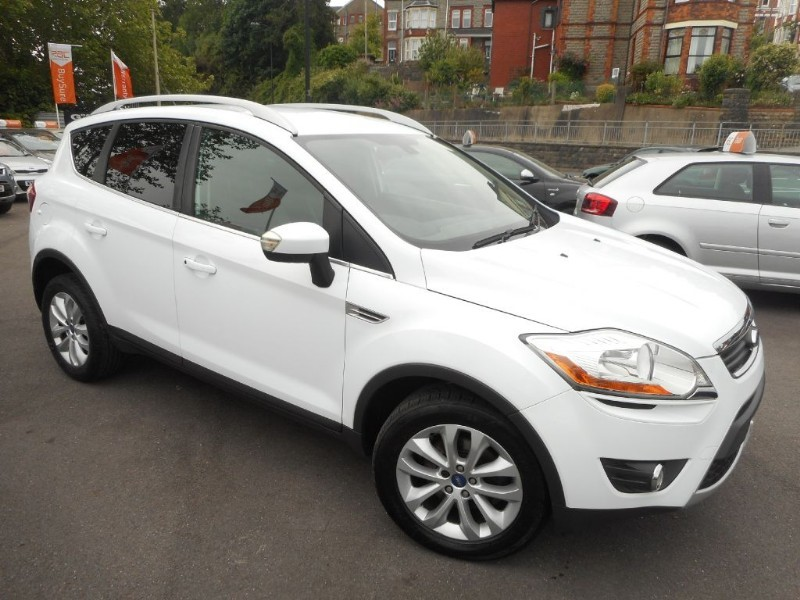 used Ford Kuga TITANIUM TDCI 2WD in glamorgan
