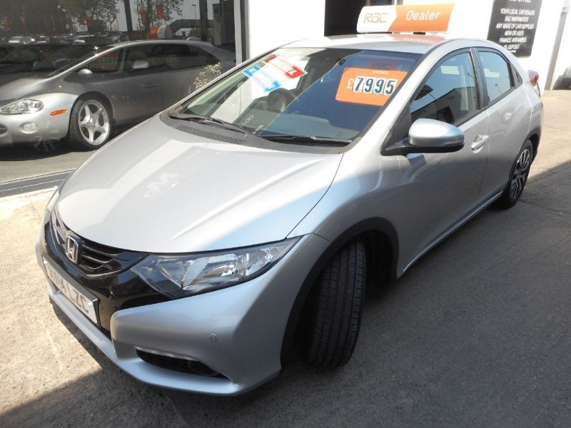 used Honda Civic I-DTEC SE PLUS in glamorgan