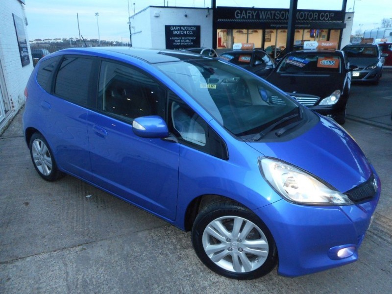 used Honda Jazz I-VTEC EX in glamorgan