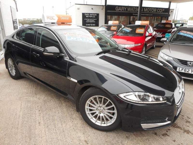used Jaguar XF D SE in glamorgan