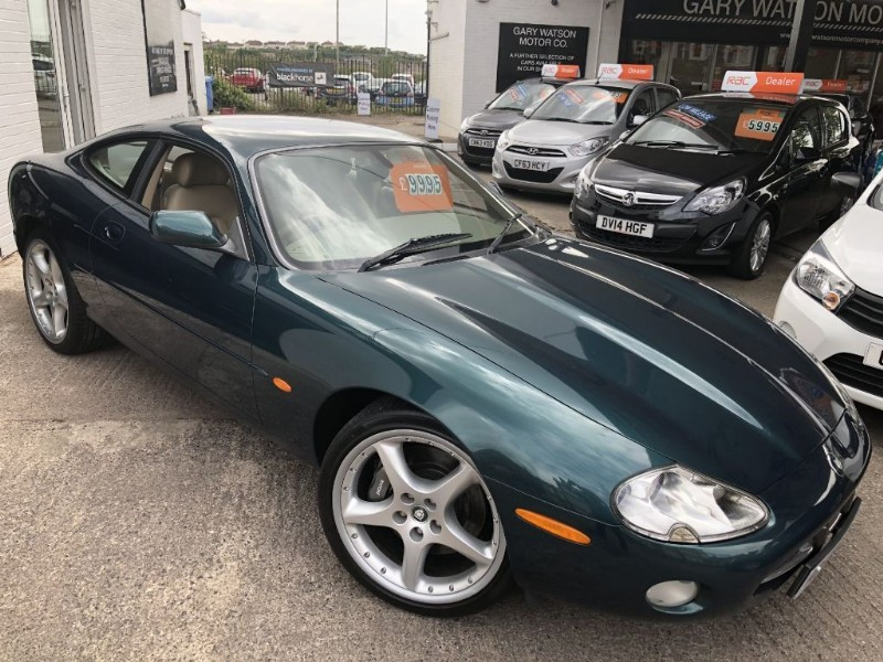 used Jaguar XK8 V8 COUPE in glamorgan