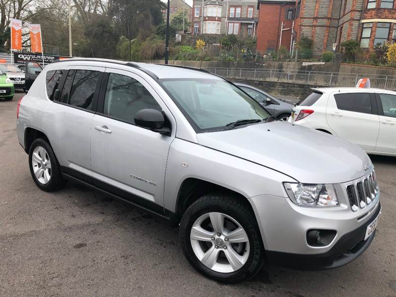 used Jeep Compass CRD SPORT PLUS in glamorgan