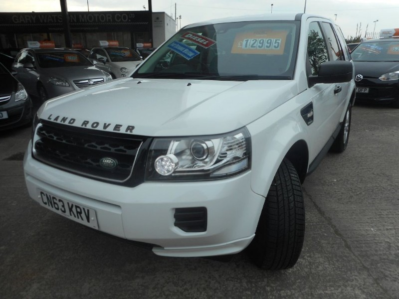 used Land Rover Freelander TD4 BLACK AND WHITE in glamorgan