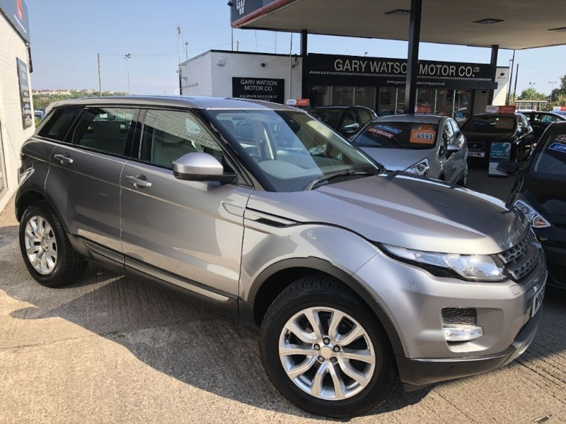 used Land Rover Range Rover Evoque ED4 PURE TECH in glamorgan