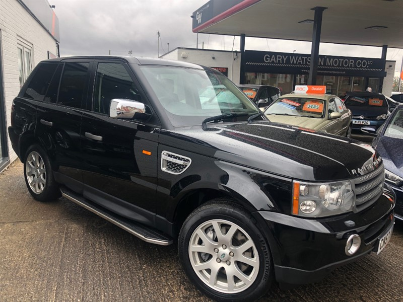 used Land Rover Range Rover Sport HSE AUTO in glamorgan