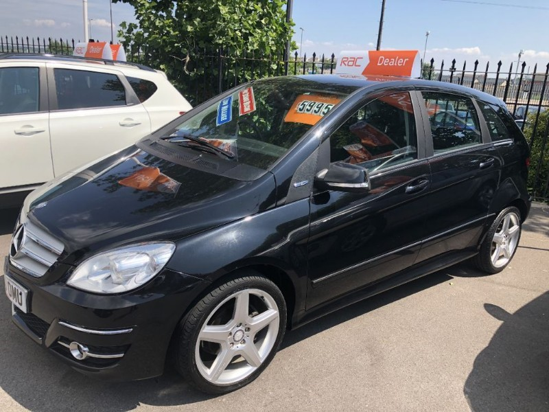 used Mercedes B160 BLUEEFFICIENCY SPORT in glamorgan