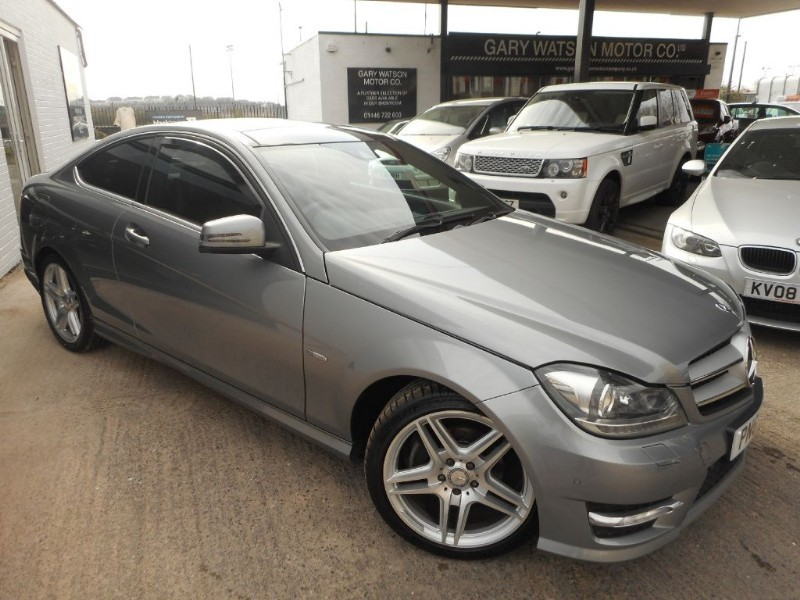 used Mercedes C250 CDI BLUEEFFICIENCY AMG SPORT ED125 in glamorgan